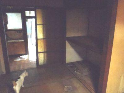 文化住宅室内の未改装の様子