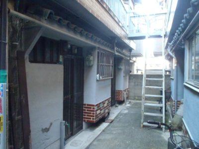 文化住宅、築古、外観