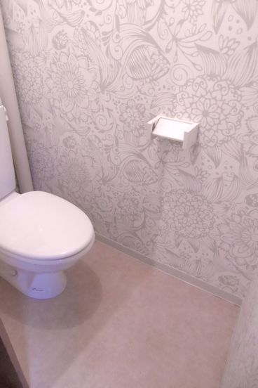 リノベーション後のトイレ、after
